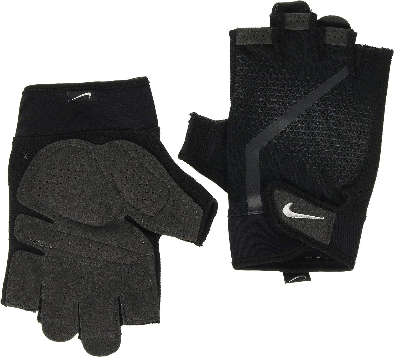 traductor Desafortunadamente acción  NIKE Men's Ultimate Fitness Gloves Guantes, Hombre: Amazon.es: Ropa y  accesorios
