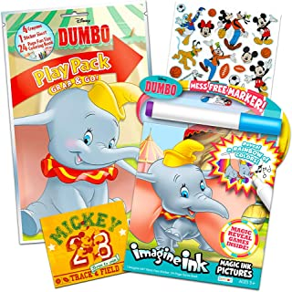 Dumbo Coloring Book Set -- Mess-Free Imagine Ink Book, Play Pack, and Bonus Stickers (Dumbo Party Supplies)