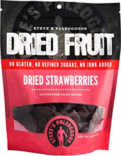 STEVES PALEOGOODS Dried Strawberries, 6 OZ