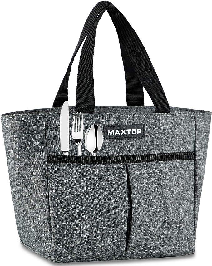 1048 opinioni per MAXTOP Borse per il pranzo da donna, borsa termica termica per ragazze con tasca