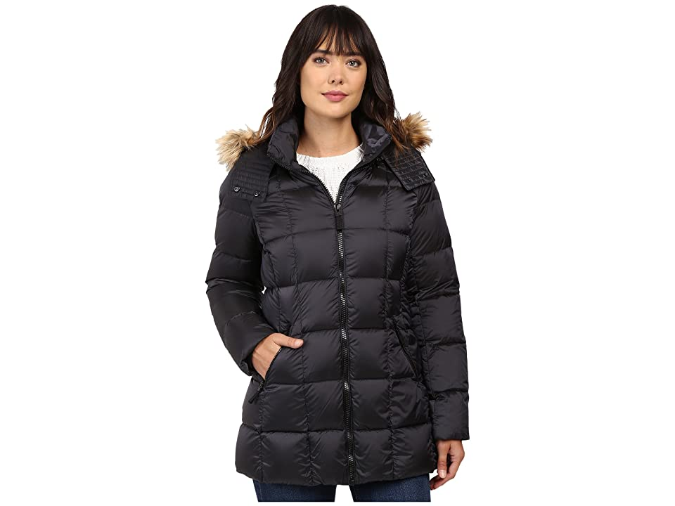 Marc New York by Andrew Marc Maddy 30 Metallic Down Jacket (Gunmetal) Women