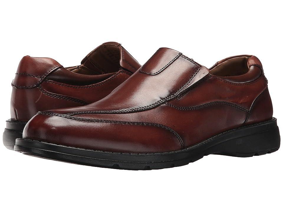 Dockers Fontana Mudguard Loafer (Dark Tan Polished Full Grain) Men