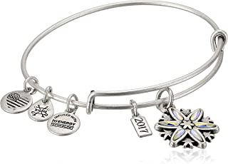 Womens Limited Edition Snowflake Bangle