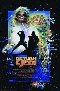 Trends International 24x36 Star Wars: Return of The Jedi - One Sheet Wall Poster, 24