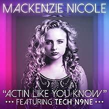 tech n9ne actin like you know