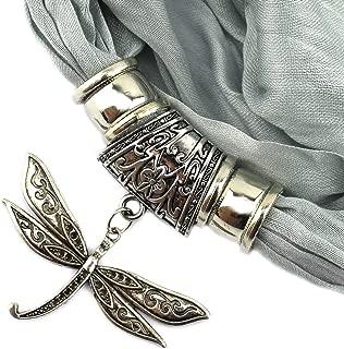PendantScarf™ New Fashion Thin Dream Yarn Dragonfly Pendant Scarf Pashmina