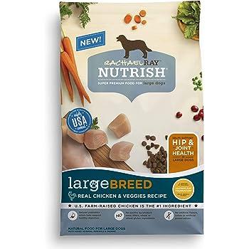 Rachael Ray Nutrish Large Breed Dry Dog Food, Chicken & Veggies Recipe
