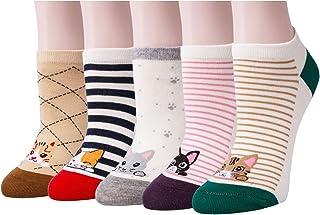 XIANOOER, Calcetines cortos para Deportivas y Botines para Mujer, Socks Women Fashion Sneaker