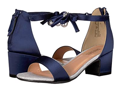 Badgley Mischka Kids Pernia Pearl Bow (Little Kid/Big Kid) (Navy) High Heels