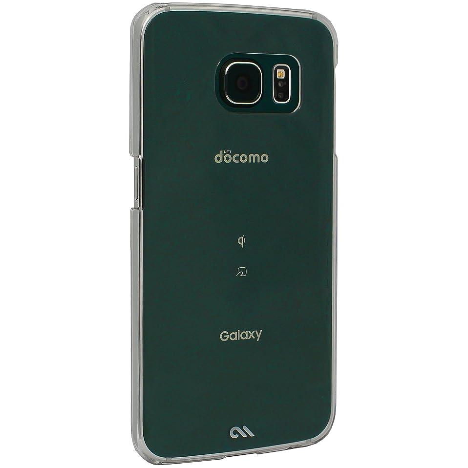 麻痺させる動脈航海のCase-Mate 日本正規品 Galaxy S6 edge docomo SC-04G / au SCV31 Barely There Case, Clear ベアリーゼア ケース, クリア [Designed for SAMSUNG mobile] CM032680