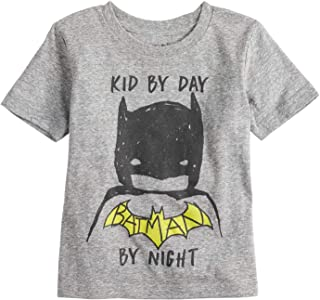 Toddler Boys 2T-5T Batman Kid by Day Batman by Night Tee