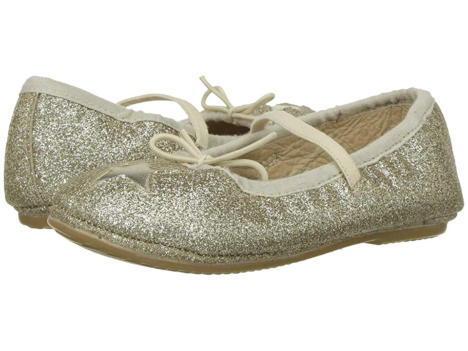 Old Soles Cruise Star (Toddler/Little Kid) (Gold Glam/Gold) Girl