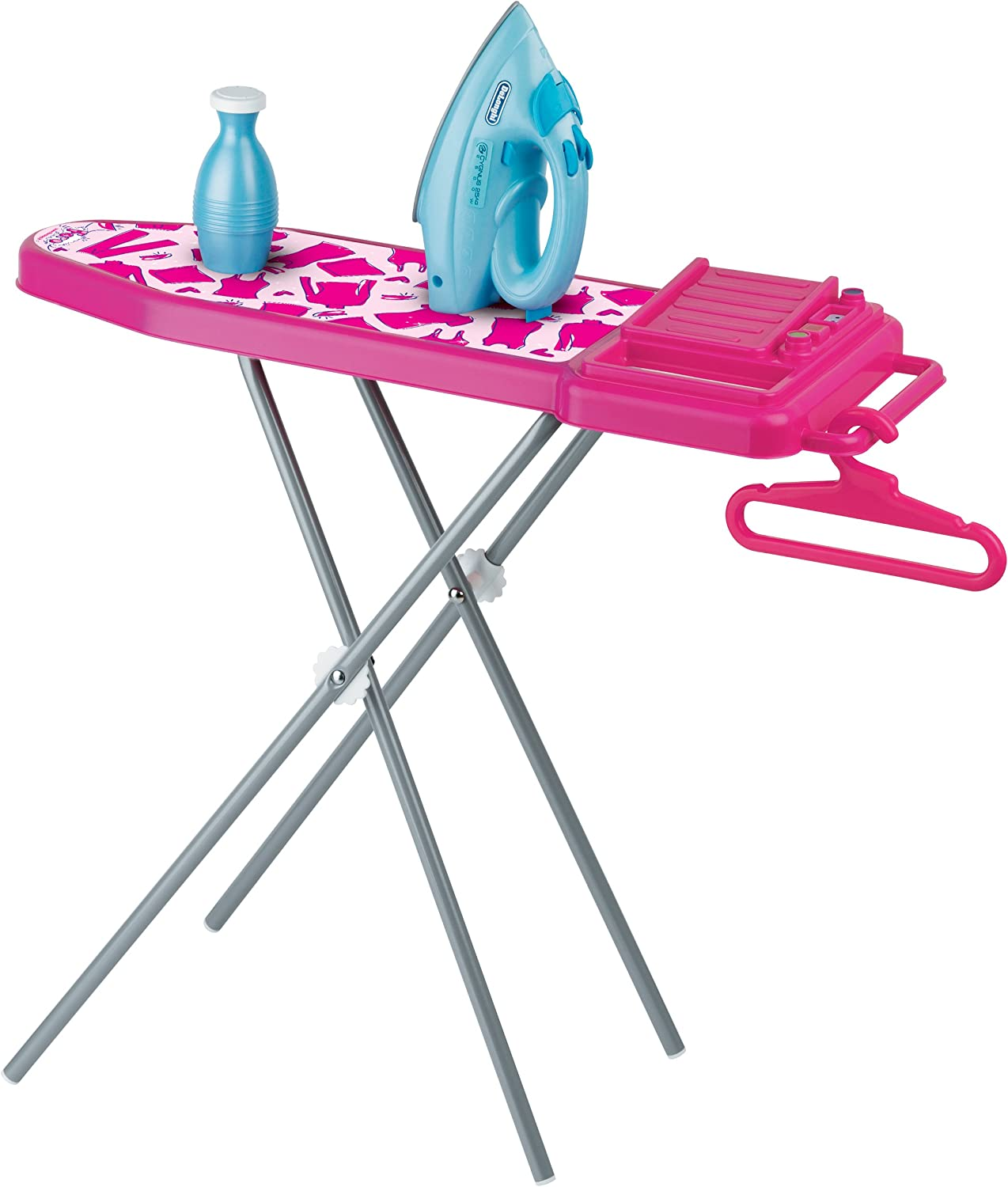 Faro Delonghi Toy Metal Ironing Board with Iron and Accessories