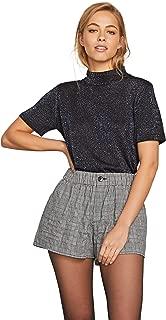 plaid girl shorts