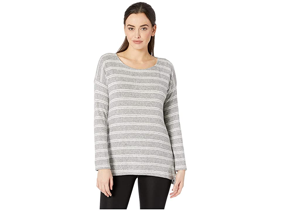 Karen Kane Stripe Hi-Lo Top (Stripe) Women