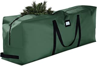 Premium Large Christmas Tree Storage Bag - Fits Up to 9 ft. Tall Artificial Disassembled Trees, Durable Handles & Sleek Du...