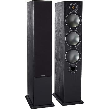 Monitor Audio Bronze Series 6 2 1/2Way Floorstanding Speaker - Each - Black Oak