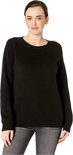 Velvet Tie Back Sweater