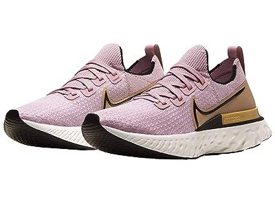 Nike React Infinity Run FK (Plum Fog/Black/Metallic Gold) Women