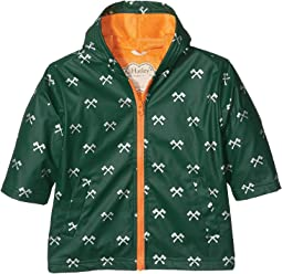 Hatley Kids - Silver Axes Splash Jacket (Toddler/Little Kids/Big Kids)