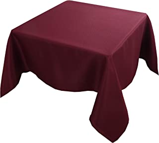 Sponsored Ad - Biscaynebay Textured Fabric Tablecloths, Water Resistant Spill Proof Tablecloths for Dining, Kitchen, Weddi...
