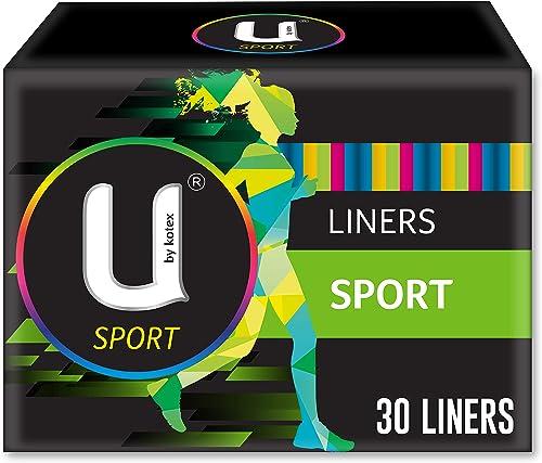 U by Kotex Sport Liners, Pack of 30