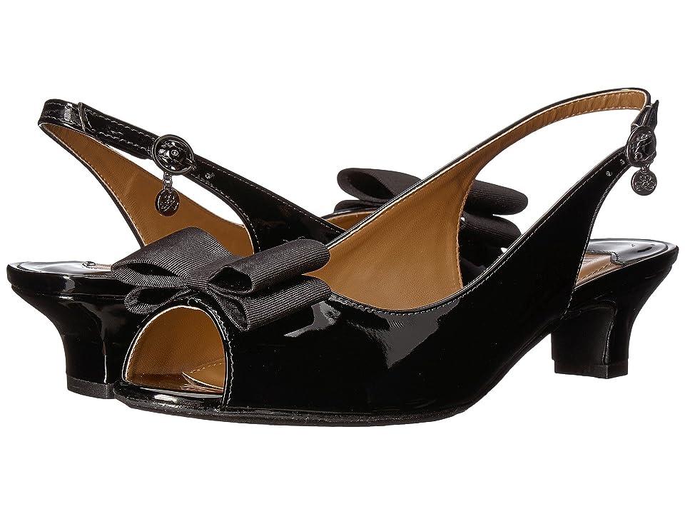 J. Renee Landan (Black Patent) High Heels