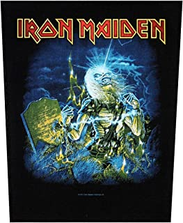 XLG Iron Maiden Live After Death Back Patch Album Art Fan Jacket Sew On Applique