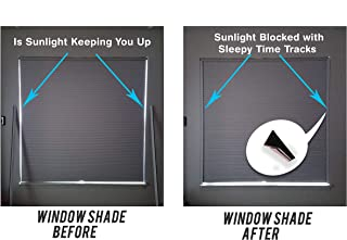 Sleepy Time Tracks-Block Light Along The Sides of Blackout Shades (60