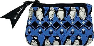 Vera Bradley Escapade Pouch Wristlet in Signature Quilted Cotton (Penguins Intarsia Blue)