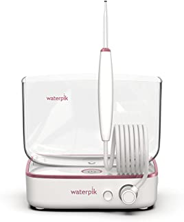 Waterpik Sidekick Portable Water Flosser for Travel & Home, White/Rose Gold