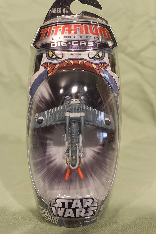Hasbro Titanium Series スーパーセール Star Wars Attack 3 Republic Gunship 買収 Inch