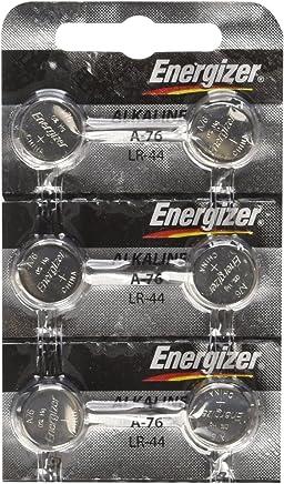 Energizer LR44 1.5V Button Cell Battery x 6 Batteries