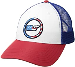 Low Profile Performance Patriotic Trucker Hat