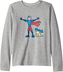 1ae41801417 Superhero Jake and Rocket Crusher T-Shirt Long Sleeve (Little Kids Big Kids