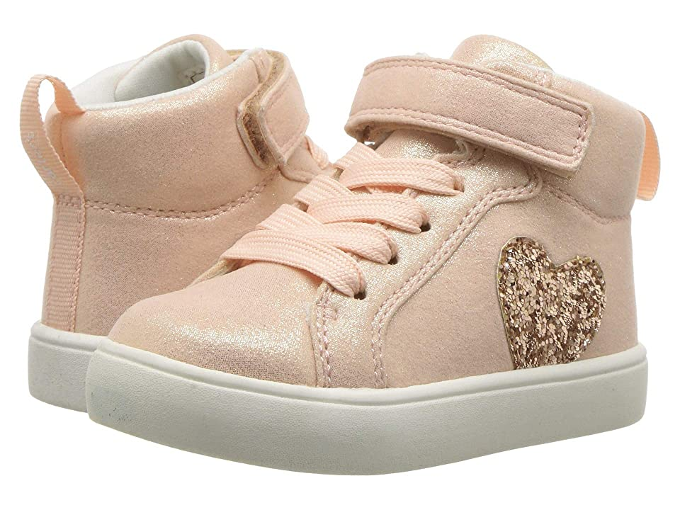 Carters Martha 3 (Toddler/Little Kid) (Rose Gold Glitter Fabric/Chunky Glitter PU) Girl