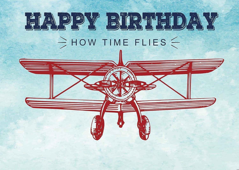 Airplane 1st Birthday Decoration Airplane Baby Shower Banner Vintage Biplane Baby Shower Decoration Airplane Party Banner