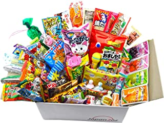 Japanese Candy Set Dagashi & Snacks Assortment 105 Pieces