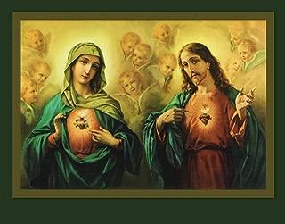 Sacred Heart & Immaculate Heart Print