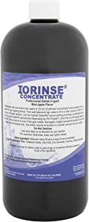 IoRinse Professional Dental Irrigant Concentrate - 1 Liter Bottle. Non-Staining. Alcohol Free. Fluoride Free. Used and Recommended by Dentists.