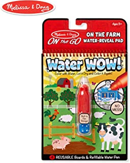Melissa & Doug  On The Go Water Wow! - Farm Toy