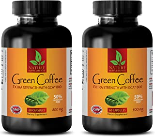 Slimming Pills for Weight Loss Women - Green Coffee Bean Extract - Extra Strength GCA 800 MG - Green Coffee Weight Loss 80...