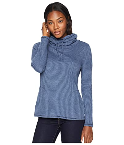 Toad&Co Cold Spring Pullover (Deep Navy Stripe) Women