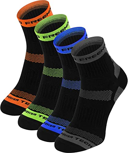 Librenord THERMOACTIVE Chaussettes – 4 Paire – FonctionneHommest, Cyclisme, Aptitude