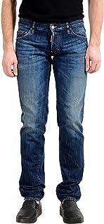 Dsquared2 Grau Jeans Slim Fit Men/'s DSQ2 Denim Hot 978-145