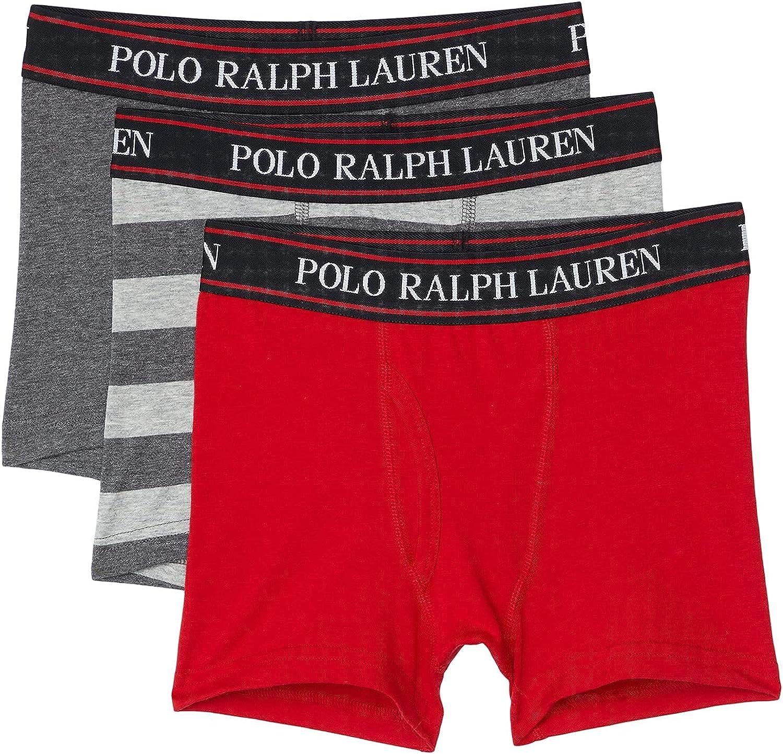 Polo Ralph Lauren Boy's P3 Stretch Cotton Blend Boxer Briefs (Little Kids/Big Kids)