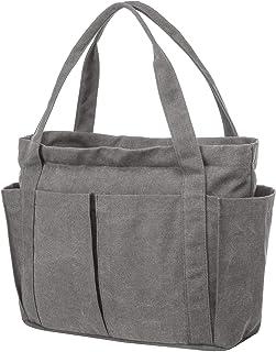 Riavika Canvas Weekend Tote Bag Shoulder Bag for Women