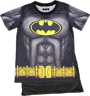 Batman Youth Boys Sublimated Cape Costume T-shirt