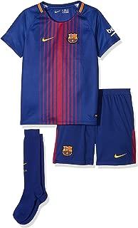 Nike FC Barcelona Stadium Home Little Kids' Soccer Mini Kit 2017-18