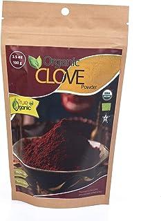 True Organic Ceylon Cloves Powder ( Ground ) 3.5 Oz - USDA Certified , Pure Ceylon Premium Quality
